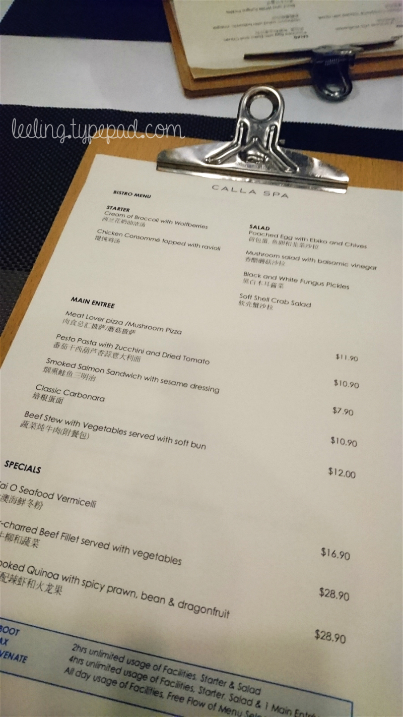 Calla-Spa-Bistro-Menu-1